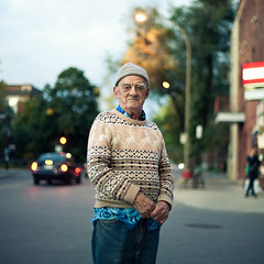 A stranger: montréal, André 72 years old photo by Benoit.P
