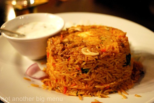 Papaya - Chicken biriyani £8.50