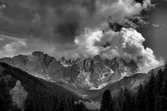 Temporale su Mulaz e Pale di San Martino photo by photolupi