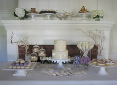 Dessert table for a wedding anniversary photo by jdesmeules (Blue Cupcake)