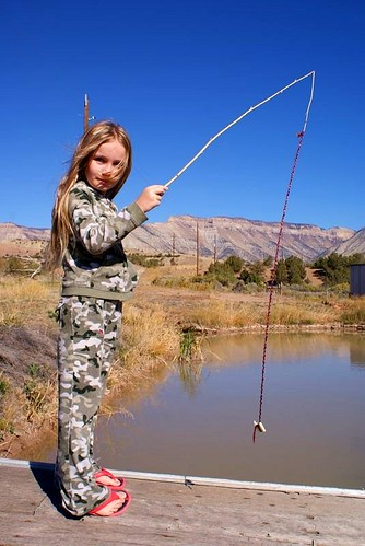 Jewel's Homemade fishing pole