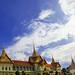 HDR Panorama Chakri Mahaprasat Hall , The Grand Palace / พาโนรามาพระที่นั่งจักรีมหาปราสาท พระบรมมหาราชวัง