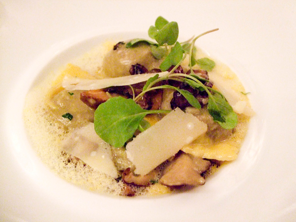 Wild Mushroom Risotto, Cafe Boulud
