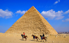 Egyptian pyramids photo by ‏Abdullah Alashiri