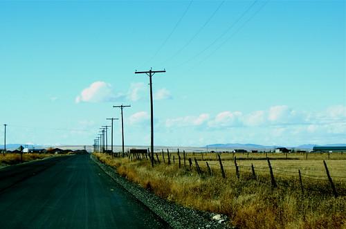 Montana Farm Road
