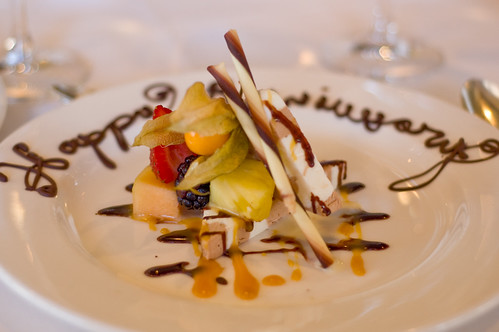 Dessert at La Chaumière
