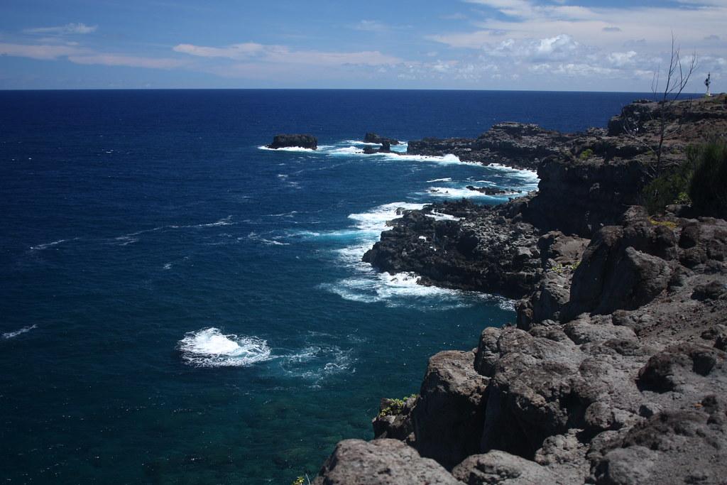 Jagged Maui Coastline