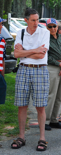 WASP Fashion: Plaid Bermuda Shorts, Braided Belt