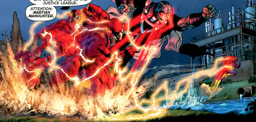 The Flash speed effect in Blackest Night 2