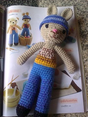 Crocheted Bunny finished