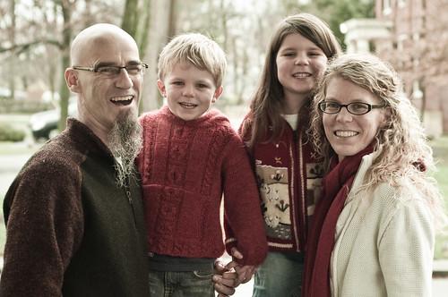 gladding family portrait