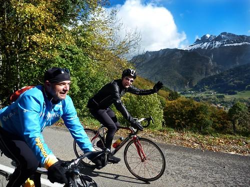 Climbing Col du Feu