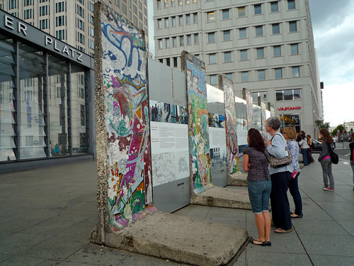 Berlin Wall at Potsdamer Platz