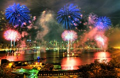 Back to Macy's fireworks... too amazing.. photo by Tony Shi Photos