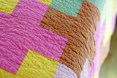 Cross quilt photo by Providence Handmade
