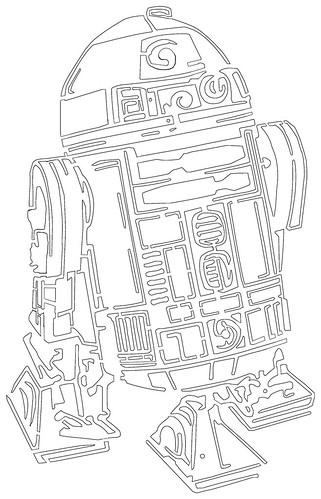 R2 D2 stencil photo by  R2d2 Stencil