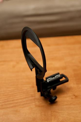 Hotshoe flash holder built.