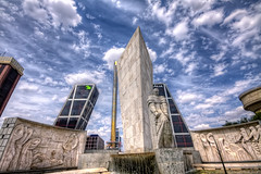 Plaza de Castilla, Madrid HDR photo by marcp_dmoz