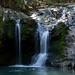 Lake Catherine waterfall