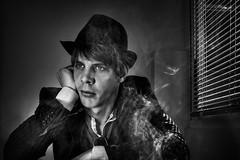 smoky self photo by illuminaut