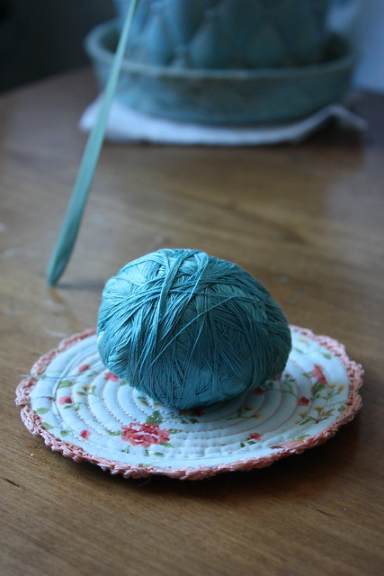 robin's egg blue · A Homemade Christmas-Embroidery