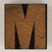 wood type letter M