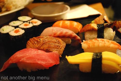 Misato - mixed sushis £7