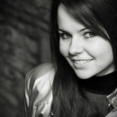 Szilvi in B/W 2 photo by noscoo