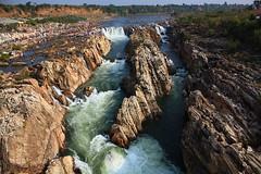 The river Narmada at Bheda Ghat in Jabalpur, India. (View Original Size) photo by Chandravir Singh