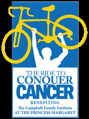 Ride to Conquer Cancer logo