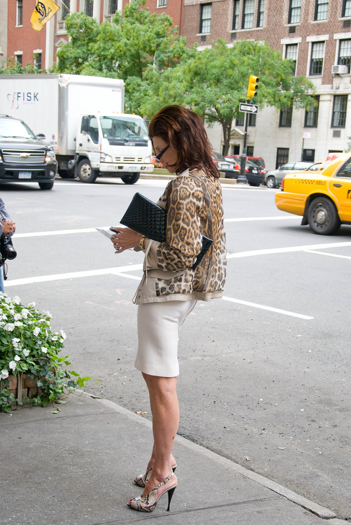 Leopard Jacket and Pencil Skirt, Oscar de la Renta Show