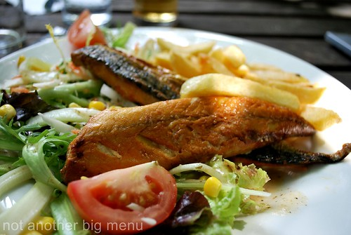 The Lock Inn - Mackerel salad