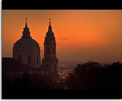 Night over the Cathedral photo by Jarda Zakravsky