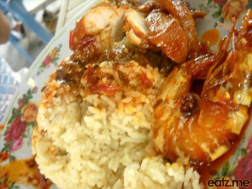 nasi Lemak Langkawi Udang Side [eatz.me]
