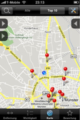 App nach Umgebung