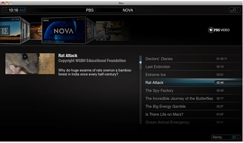 PBS Plugin for Plex