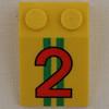 lego brick number 2