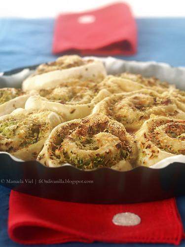 Rose di pane con feta e zucchine - image © Manuela Viel