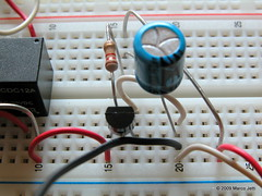 First experiments w/ breadboard: foto 02 photo by Majet