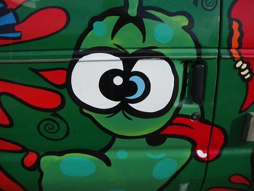 Funky Pickle Van