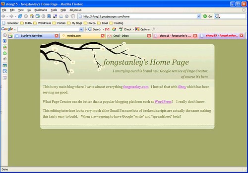 page creator