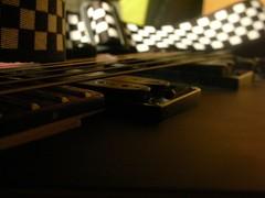Macro Guitar Shot