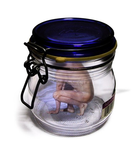 Trapped in a jar