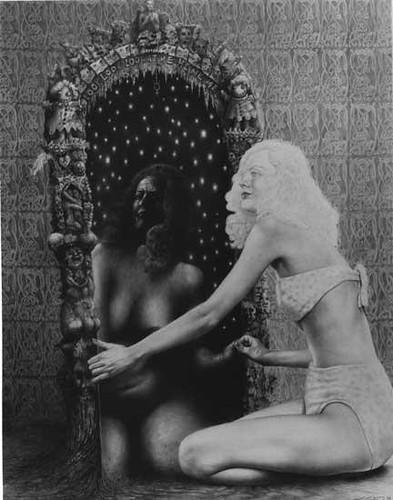 Mirror, mirror (Laurie Lipton)