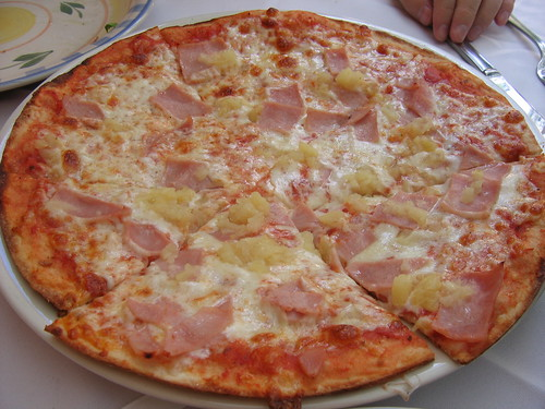 Best Hawaiian Pizza Ever (by Katie Dickinson)