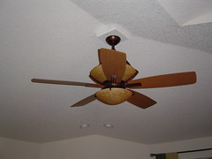 new fan in the family room