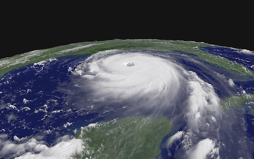 Hurricane Katrina Satellite Image