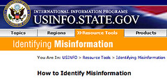 US Identifying Misinformation
