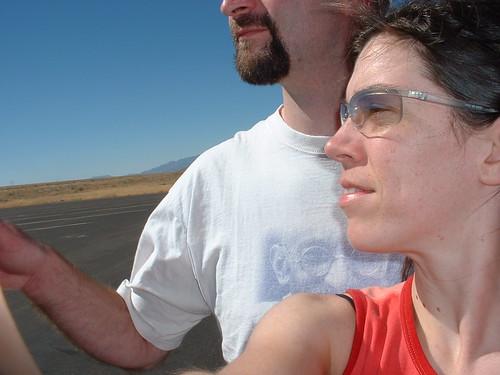 Rob & Eshinee ... Nevada road tripping
