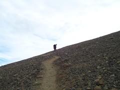 Climbing Vindbelgjarfjall